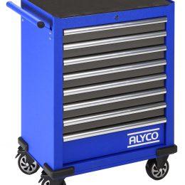 Carro de 8 cajones con herramientas Alyco