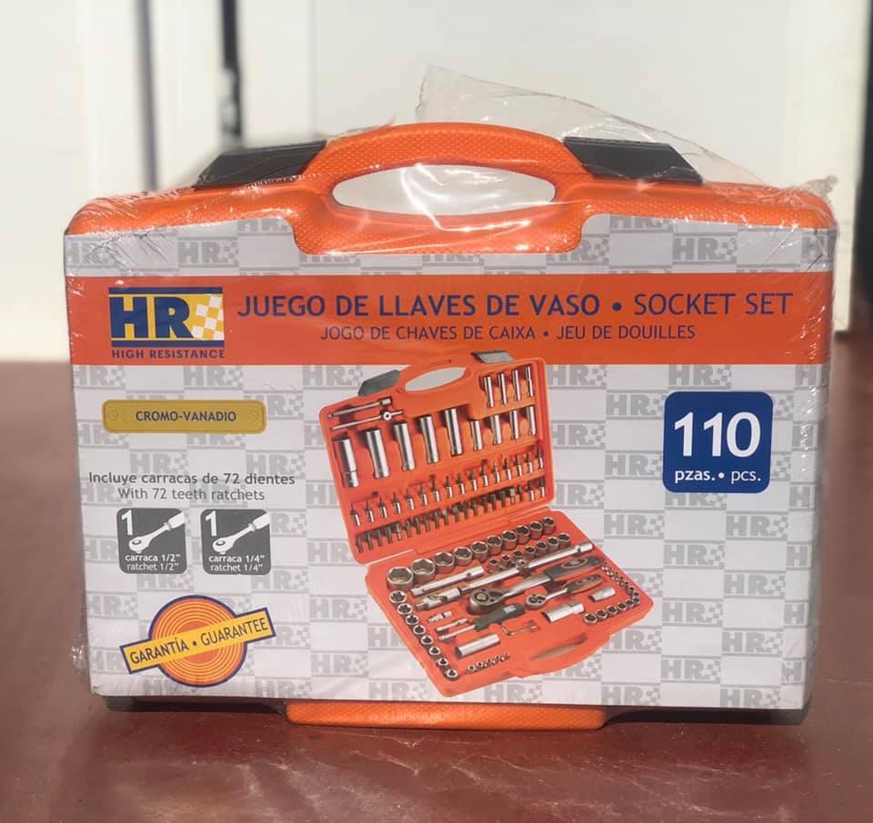 Maletín llaves vaso 110 pics Modelo HR Alyco