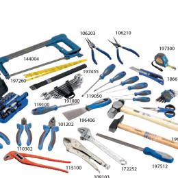Caja de 5 bandejas y 80 herramientas Alyco